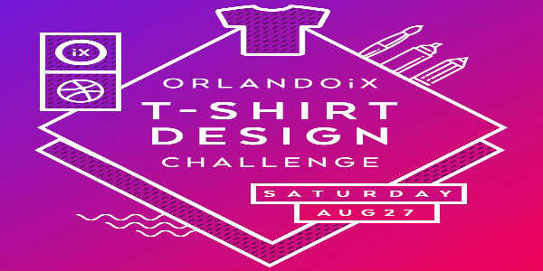 OrlandoiX Launches 2016 T-shirt Design Challenge