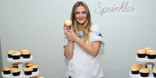 Sprinkles Partners with Drew Barrymore for Charity Cupcake Flavor