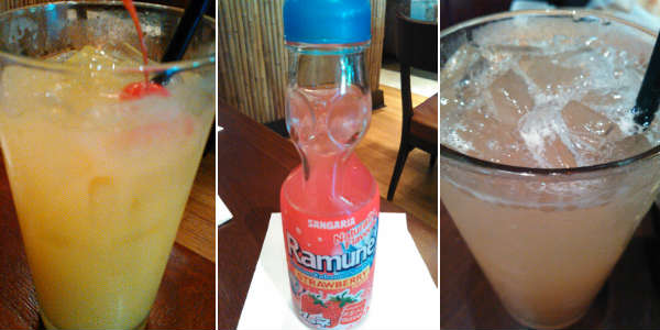 Emeril's Tchoup Chop - mocktails and Ramune