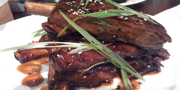 Emeril's Tchoup Chop - Kiawe-Smoked Pork Ribs