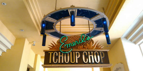 A Review of Lunch at Emeril's Tchoup Chop by Michelle Snow of CitySurfing Orlando