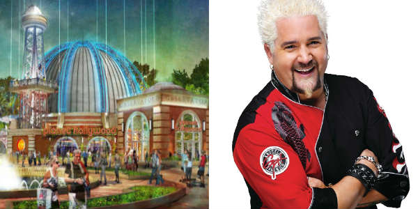 Planet Hollywood Disney Springs Teams With Celebrity Chef Guy Fieri