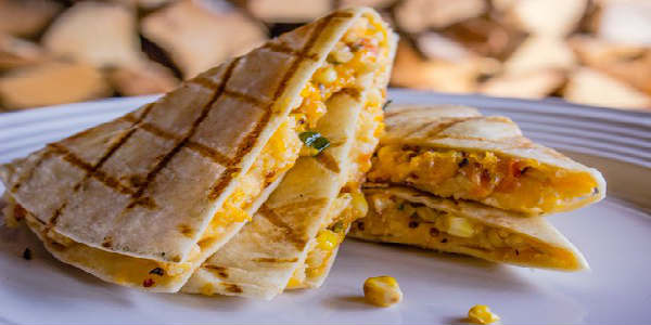 4 Rivers Smokehouse Vegetarian Quesadilla