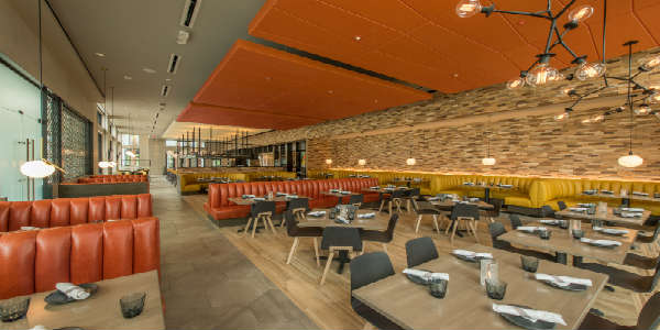 Chroma Modern Bar + Kitchen in Lake Nona Town Center - dining room