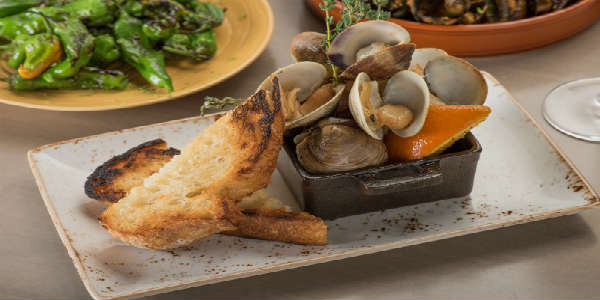 Chroma Modern Bar + Kitchen in Lake Nona Town Center - Skillet-Roasted Clams