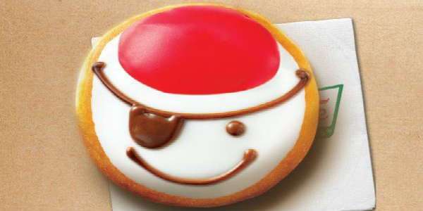 Krispy Kreme Pirate Doughnut