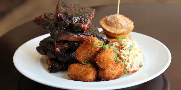 Ribs & Whiskey Menu at Marlow's Tavern - full rack of ribs