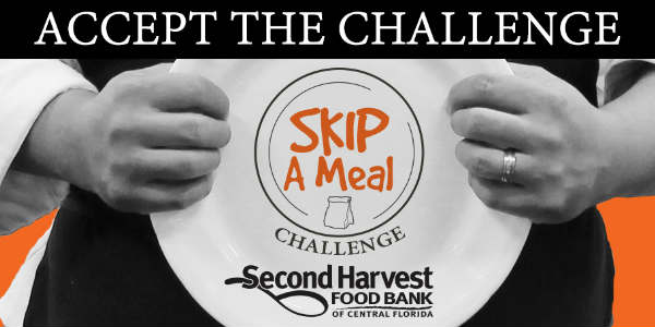 Skip a Meal Challenge For Central Florida
