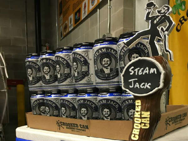 Crooked Can Brewery Releases Steam Jack