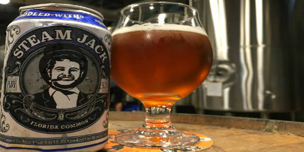 Crooked Can Brewery Releases Steam Jack with ABC Fine Wine & Spirits