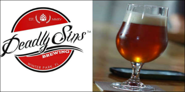 Deadly Sins Brewing Grand Opens in Winter Park Oct 15