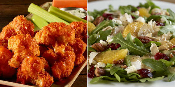 Hard Rock Cafe Orlando is offering a limited time Vegetarian menu