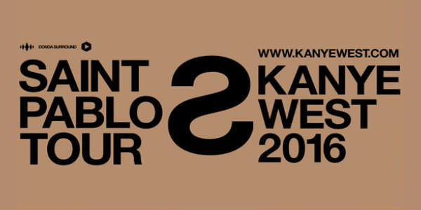 Kanye West Brings Saint Pablo Tour to Amway Center Dec 6