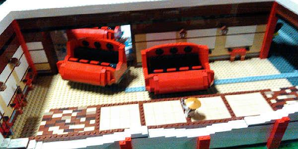 LEGOLAND Florida LEGO Ninjago Attraction - model