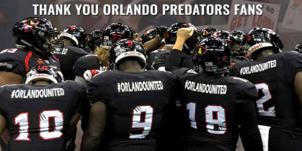 Orlando Predators Arena Football Team Suspends Operations