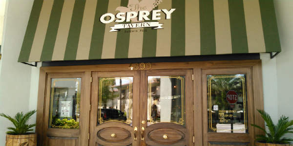 The Osprey Tavern launches new lunch menu