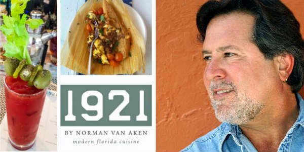 1921 by Norman Van Aken will start Sunday brunch service November 13.