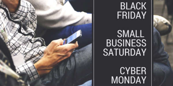 Black Friday, Small Business Saturday, and Cyber Monday deals