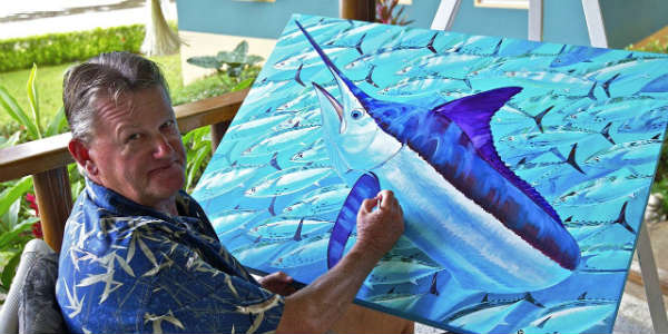 Meet Guy Harvey at SeaWorld Orlando