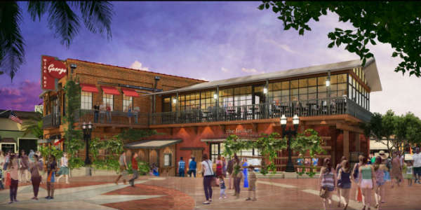 Wine Bar George at Disney Springs - artistic rendering
