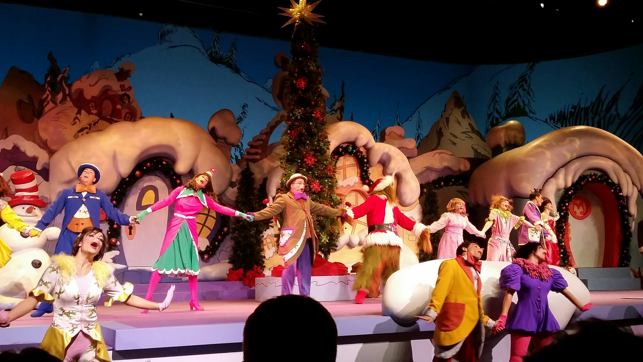 Universal Orlando Celebrates Holidays with Grinchmas  - photo by Carol Garreans