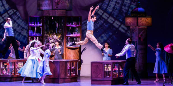 Out and About: An American in Paris at Dr Phillips Center in Orlando - the cast