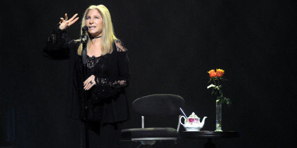 Barbra Streisand Wows Crowd at Tampa Concert - photo by Gerardo Mora/WireImage