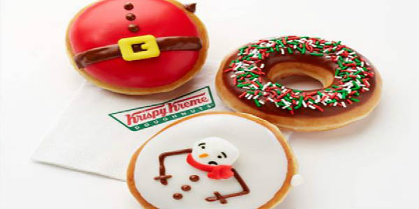 Krispy Kreme Doughnuts limited holiday items