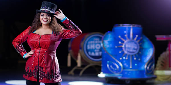 Kristen Michelle Wilson joins Ringling Bros. and Barnum & Bailey presents Circus XTREME as its first-ever female ringmaster