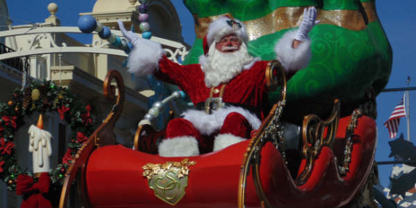 15 Ways to Enjoy the 2016 Holidays in Central Florida - Santa