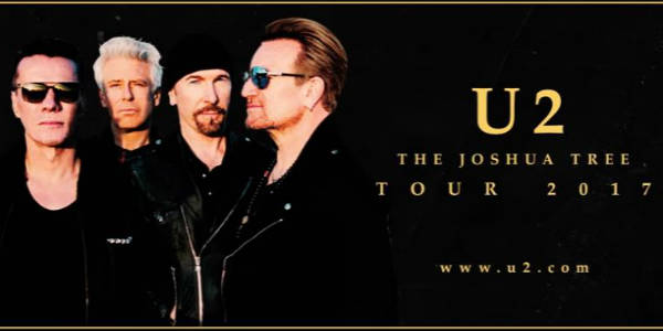 U2: The Joshua Tree Tour Hits Florida for Two Shows Summer 2017