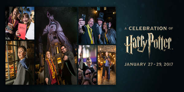 4th Annual A Celebration of Harry Potter Comes to Universal Orlando Jan 27-29