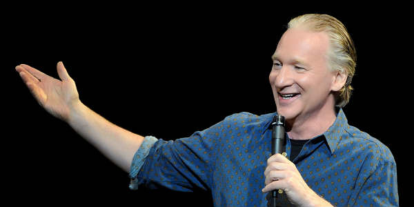 Dr Phillips Center Welcomes Back Bill Maher July 8, 2017