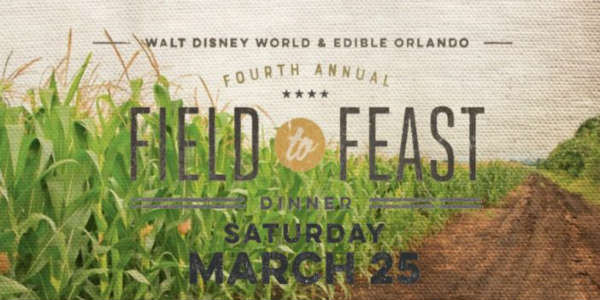 The 4th Annual Edible Orlando Field to Feast Dinner will be held at Long & Scott Farms in Mt Dora on March 25.
