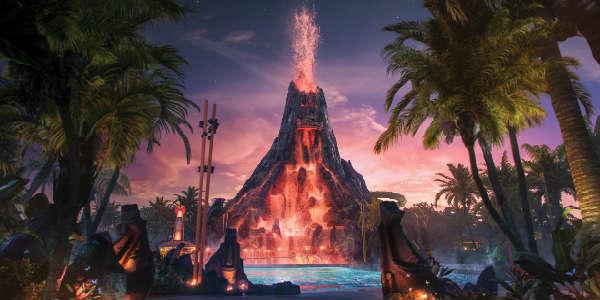 Universal Orlando Volcano Bay Waterpark