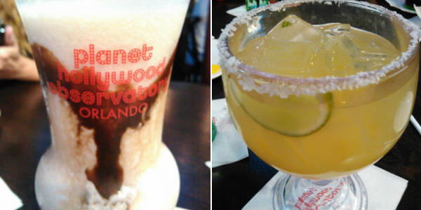 Planet Hollywood Observatory at Disney Springs - Space Monkey - Stellar Margarita