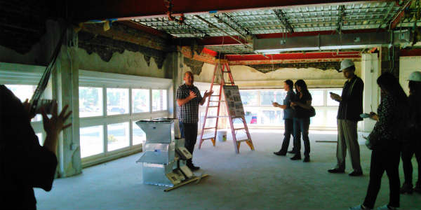 Hard Hat Preview of the Ace Cafe Orlando - Stonebridge Motorgallery