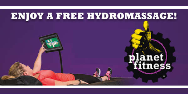 Planet Fitness Offers Free HydroMassage to Soothe Tax Day Stress