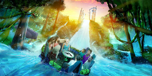 SeaWorld Orlando to Open Infinity Falls in Summer 2018