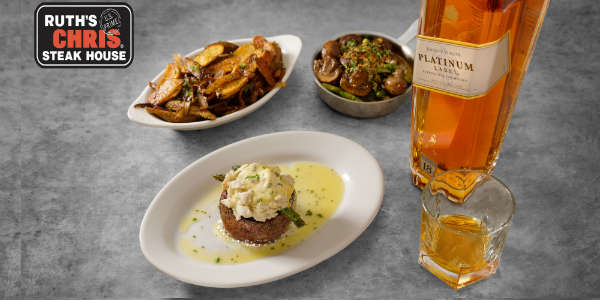 Ruth's Chris Steakhouse Hosts Johnnie Walker TasteMaker Dinner