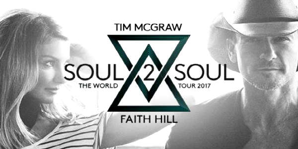 Tim McGraw and Faith Hill Bring Soul2Soul World Tour to Central Florida Oct 2017