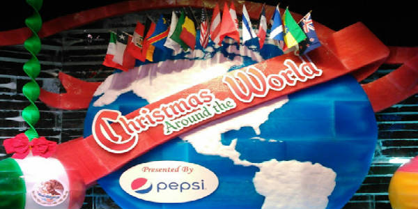 The theme for this year's holiday program at Gaylord Palms is Christmas Around the World.