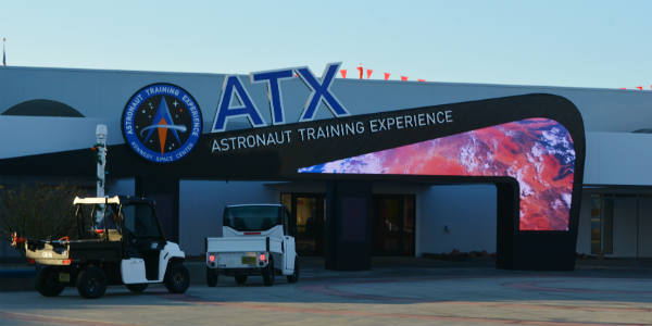 The New Astronaut Training Experience at Kennedy Space Center Visitor Complex