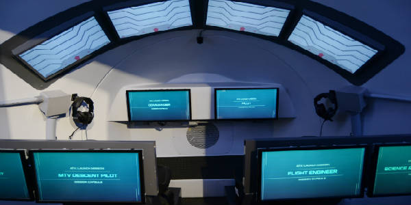 The New Astronaut Training Experience at Kennedy Space Center Visitor Complex -photo by Kirk Garreans