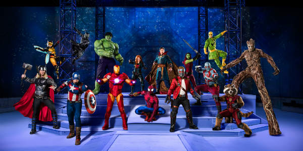 Marvel Universe LIVE! Age of Heroes Coming to Amway Center in Orlando Jan 12-15, 2018