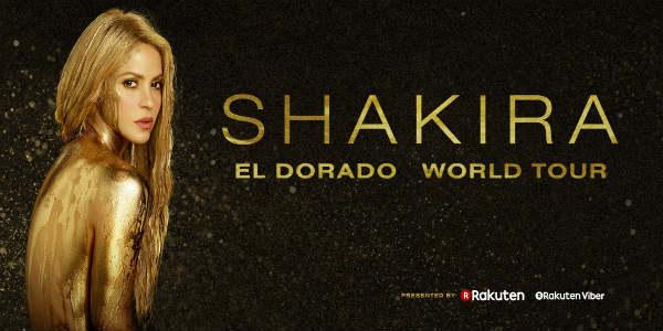 Shakira El Dorado Tour 2018