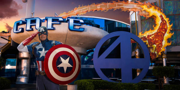 Marvel Character Dinner Coming to Universal Orlando