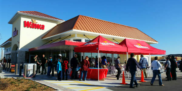New Wawa Opens on Central Florida Parkway in Orlando - photo by Carol and Kirk Garreans for CitySurfing Orlando