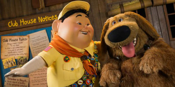"Walt Disney World has announced an all-new show coming to Disney's Animal Kingdom in Spring 2018 featuring Russell and Dug from Disney•Pixar's ""UP."""
