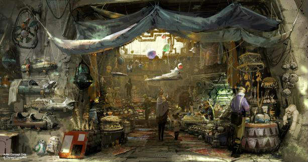 Walt Disney World Gives Update on Star Wars: Galaxy's Edge